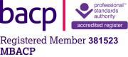 BACP Registered Member 381523